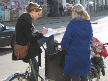 På gaden i oktober 2010