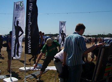 Roskilde Festival 2008 forberedelser